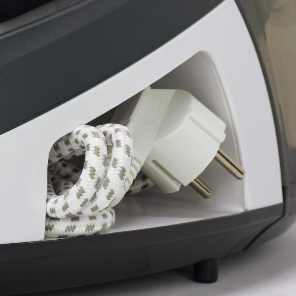 Statie de Calcat Polti Vaporella Simply VS10.10, Talpa Ceramica, 2200 W, 1.5 l, 6.5 BAR, 125 gr/min, Alb/Gri 1