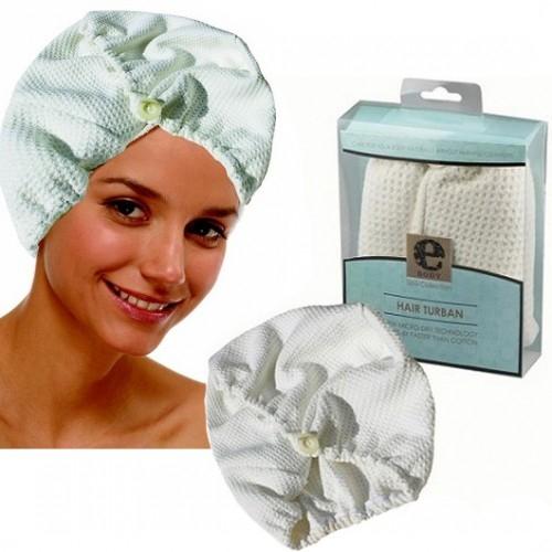 Turban Premium E-Cloth din Microfibra pentru Par, 50 x 26 cm [1]