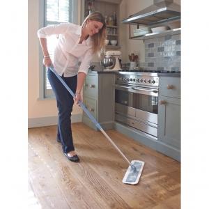 Laveta Premium E-Cloth din Microfibra pentru Mop, Stergerea Prafului, Pardoseli, Casa, Hotel, Restaurant, Pub, 45 x 13.5 cm6