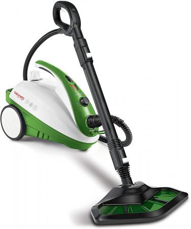 Aparat de Curatat cu Abur Polti Vaporetto Smart 35 Mop,1800W, Emisie Abur  95 g/min, Presiune Abur 3.5 BAR, Alb/Verde2