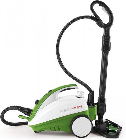 Aparat de Curatat cu Abur Polti Vaporetto Smart 35 Mop,1800W, Emisie Abur  95 g/min, Presiune Abur 3.5 BAR, Alb/Verde1