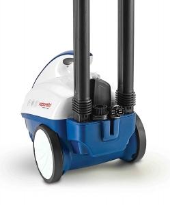 Resigilat_Aparat de Curatat cu Abur Polti Vaporetto Smart 40_Mop,1800W, Emisie Abur  85 g/min, Presiune Abur 3.5 BAR, Alb Albastru1