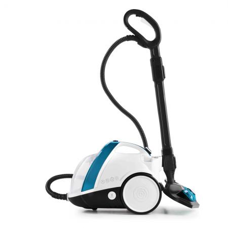 Aparat de Curatat cu Abur Vaporetto Smart 100_T, 1500 W, 2 l, 4 Bar, 110 gr/min, Alb/Albastru1