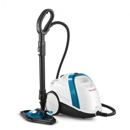 Aparat de Curatat cu Abur Vaporetto Smart 100_T, 1500 W, 2 l, 4 Bar, 110 gr/min, Alb/Albastru