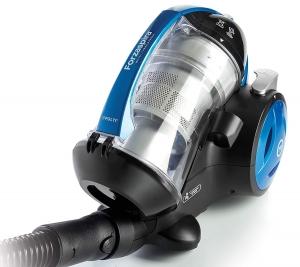 Aspirator Fara Sac Polti Forzaspira MC 350 Turbo & Fresh, 1.8 l, 700 W, Filtru HEPA, Clasa A, Negru/Albastru1