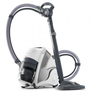 Aspirator Polti Unico MCV 20 Allergy Multifloor, Filtrare Multiciclonica 5 Stadii, Functie Igienizare Abur si Uscare, 2200 W, Filtru Hepa, Argintiu0