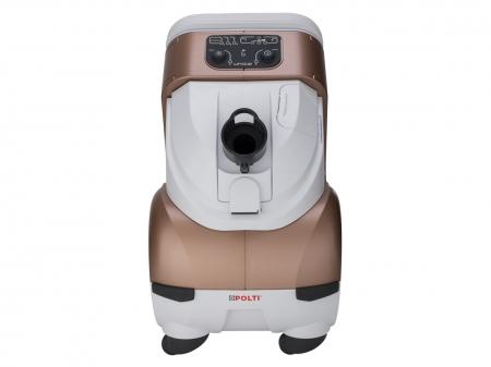 Aspirator Polti Unico MCV 85 Total Clean & Turbo, Filtrare Multiciclonica 5 Stadii, Functie Igienizare Abur si Uscare , 2200 W, Filtru Hepa, Auriu8