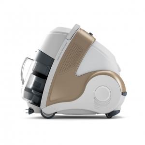 Resigilat_Aspirator Polti Unico MCV 85 Total Clean & Turbo, Filtrare Multiciclonica 5 Stadii, Functie Igienizare Abur si Uscare , 2200 W, Filtru Hepa, Auriu2