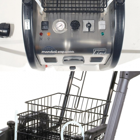 Aspirator Profesional cu Abur Polti Mondial Vap 6000,  Functie Injectie/Extractie, Spalare cu Detergent3