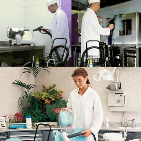 Aspirator Profesional cu Abur Polti Mondial Vap 6000,  Functie Injectie/Extractie, Spalare cu Detergent1