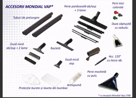 Aspirator Profesional cu Abur Polti Mondial Vap Special Cleaner,  Functie Injectie/Extractie, Spalare cu Detergent2
