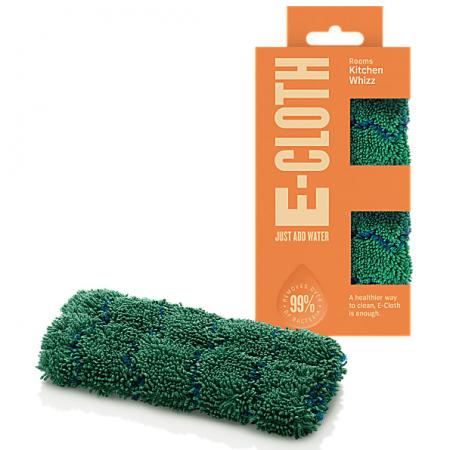 Burete de Vase Premium E-Cloth din Microfibra pentru Farfurii, Pahare, Tacamuri, Tavi,16  x 9 cm [0]