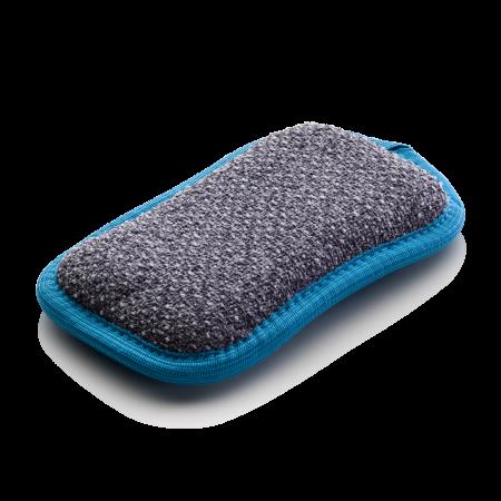 Burete Premium E-Cloth din Mcirofibra cu Doua Fete Pentru Bucatarie si Baie, Fara Zgarieturi, 15 x 8 cm [3]
