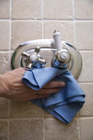 Lavetă Premium E-Cloth din Microfibră pentru Sticlă și Lustruire, Pahare, Geamuri, Vitroceramică, 50  x 40 cm [4]