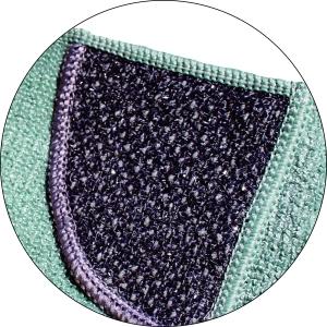 Laveta Premium E-Cloth din Microfibra pentru Curatarea Bucatariei, Compartiment Abraziv, 32 x 32 cm3