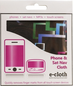 Laveta E-Cloth pentru Ecran Telefon, Tableta, Navigatie, MP3, Touch Screen, 19 x 19 cm2