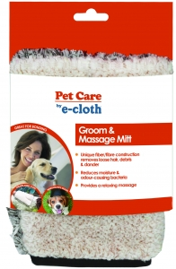 Manusa Premium E-Cloth din Microfibra pentru Ingrijire si Masaj Cani si Pisici, 23.5 x 17 cm3