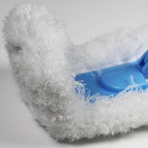 Rezerva Mop de Praf Premium E-Cloth Flexibil pentru Pardoseli si Pereti, 45  x 14 cm3