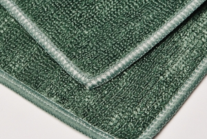 Set 10 x Laveta Premium E-Cloth Universala din Microfibra, Bucatarie, Baie, Geamuri, Praf, 32 x 32 cm, Verde2