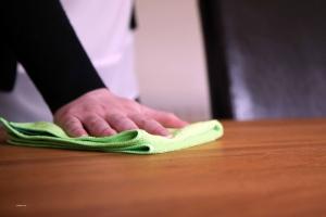 Set 10 x Laveta Premium E-Cloth Universala din Microfibra, Bucatarie, Baie, Geamuri, Praf, 32 x 32 cm, Verde4