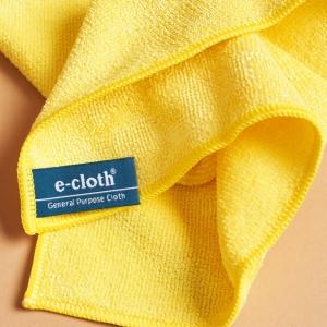Set 10 x Laveta Premium E-Cloth Universala din Microfibra, Bucatarie, Baie, Geamuri, Praf, 32 x 32 cm, Galben1