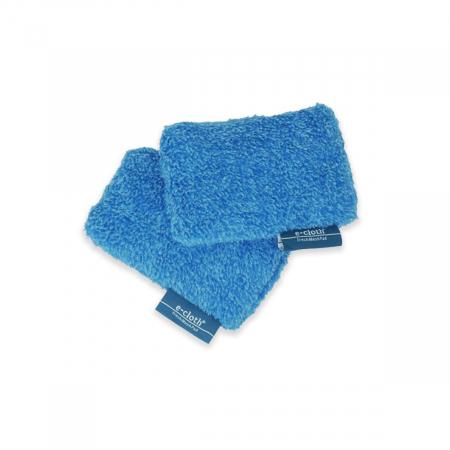 Set Doi Bureti Premium E-Cloth din Microfibra pentru Bucatarie si Baie, Cada, Chiuveta [4]