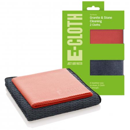 Set Doua Lavete Premium E-Cloth din Microfibra pentru Curatarea Suprafetelor si Blaturilor din Granit, 32 x 32 cm [0]