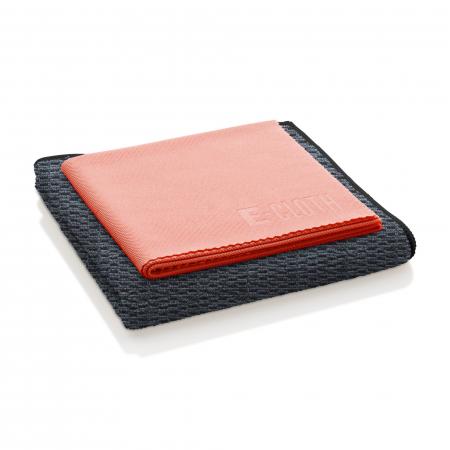 Set Doua Lavete Premium E-Cloth din Microfibra pentru Curatarea Suprafetelor si Blaturilor din Granit, 32 x 32 cm [1]
