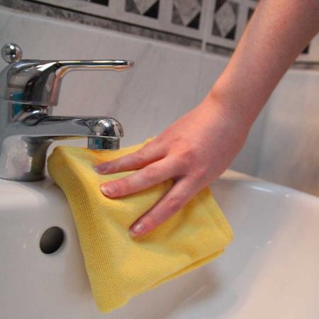 Set doua lavete premium din microfibra e-cloth pentru baie [6]