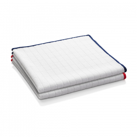 Set Doua Lavete Premium E-Cloth din Microfibra Antibacteriana pentru Spalat si Uscat in Bucatarie, 32 x 32 cm [2]
