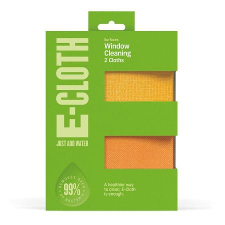 Set doua lavete premium din microfibra e-cloth pentru geamuri, oglinzi, vitralii, pervaze si tocarie [1]