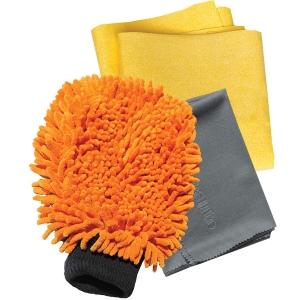 Set Premium E-Cloth din Microfibra pentru Spalat, Uscat si Lustruit Masina, 17 x 26 cm2