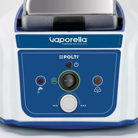 Stație de Călcat Polti Vaporella Vaporella Forever 657 Eco_Pro, Talpă Aluminiu, 2150 W, 5 Bar, 110 g/min, Alb/Albastru4