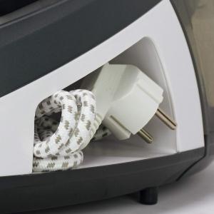 Statie de Calcat Polti Vaporella Simply VS10.12, Talpa Ceramica, 2200 W, 1.5 l, 6.5 BAR, 125 gr/min, Alb/Gri [1]
