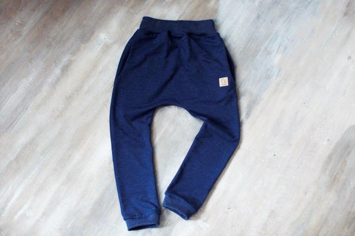 Pantalon trening lung_Albastru 0