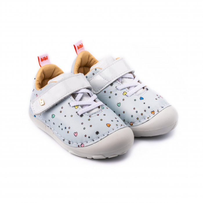 Pantofi fete_Albastru/Happy place_Grow 0