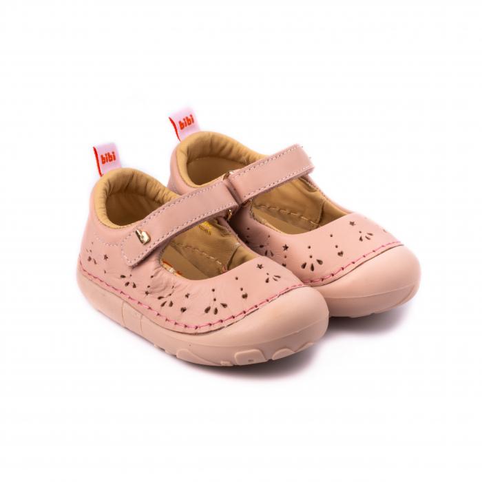 Pantofi fete_Roz, perforati_Grow 0