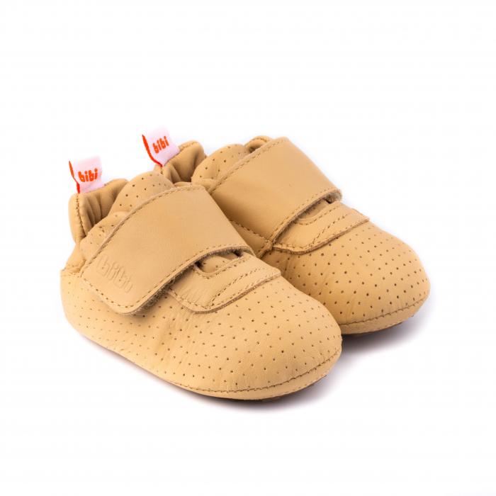 Pantofi bebe_Nude_Afeto 0