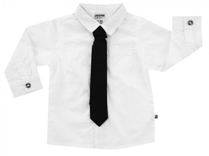 Camasa baieti cu maneca lunga si cravata detasabila_Classic 0