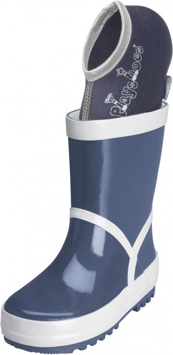 Sosete pentru cizmele de cauciuc_Navy/Grey 1