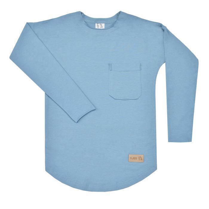 Bluza cu maneca lunga, baieti,  Albastru, Seven Heaven 0