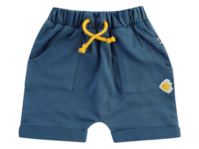 Pantalon scurt, bumbac 100%, Albastru, Save Our Seas 0