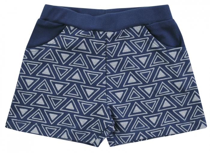 Pantalon scurt cu buzunare, unisex, Bleumarin, Jungle [0]