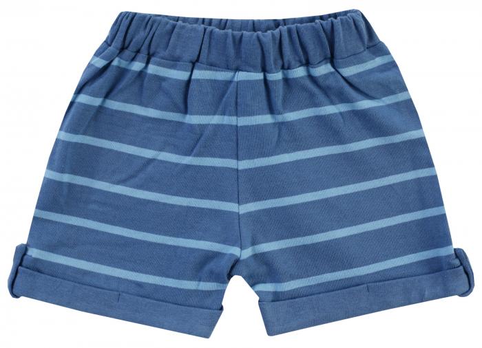 Pantalon scurt, vara, baieti, Albastru, Happy Car Friends [0]