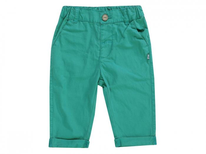 Pantalon lung, subtire, bumbac 100%_Verde_Lion the King 0