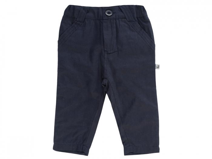 Pantalon lung, elegant, bumbac 100%, Navy, Classic Boys [0]