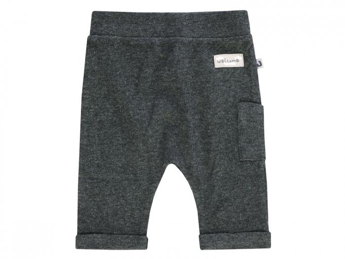 Pantalon lung trening,gri inchis_Lama 0