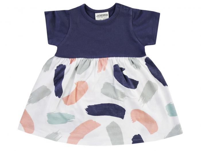Rochie cu maneca scurta, colorata, Dresses [0]