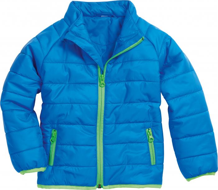 Jacheta matlasata, usoara, toamna, iarna, baieti, Albastru 0