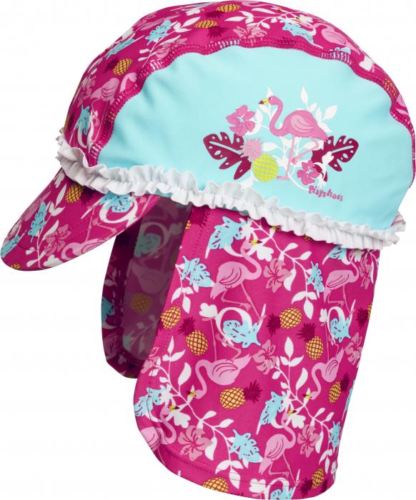 Sapca de soare, protectie UV 50+_fete_roz/turcoise/flamingo [0]